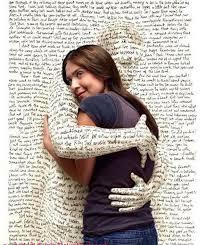 hug a paper