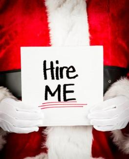 hire me santa