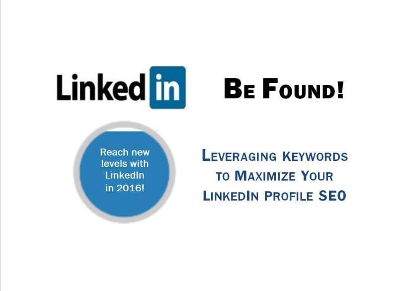 LinkedIn Profile Keyword SEO