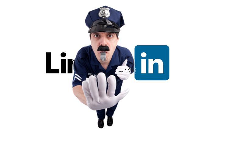 linkedin police