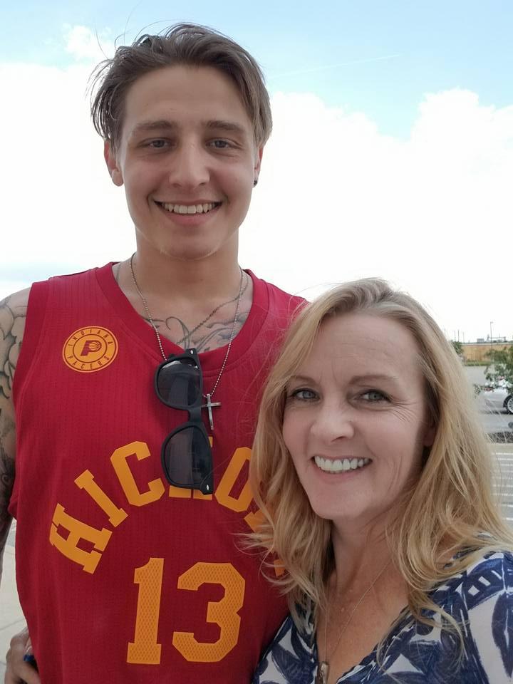 Lisa K McDonald - shopping with my son