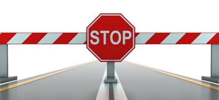 road block stop