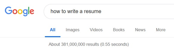 google search write a resume - lisa k mcdonald